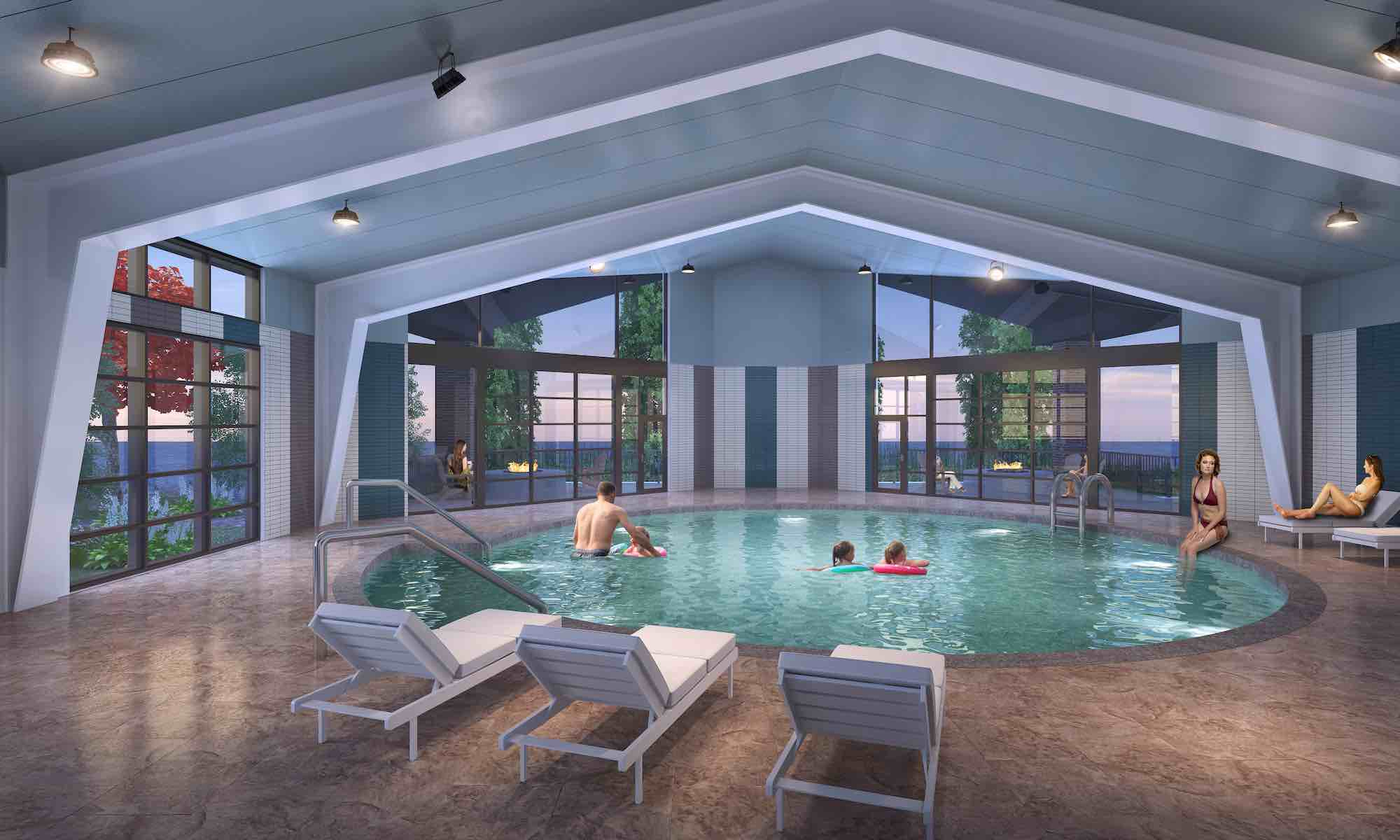 Sharonville Hotel Expands with Indoor Pool Facility